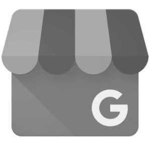 Google My Business logo grey